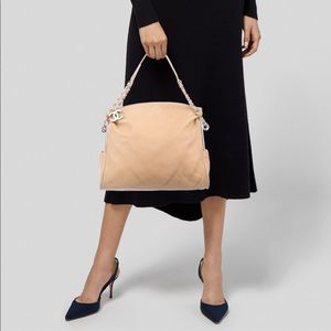 CHANEL ultimate soft hobo Beige